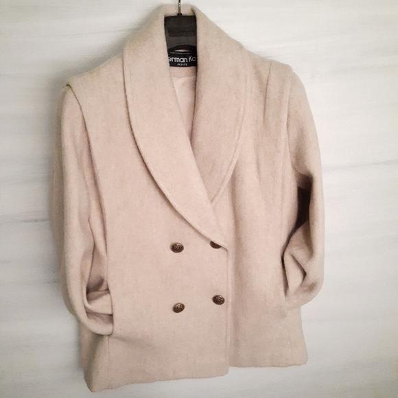 Herman Kay Retro Wool Coat